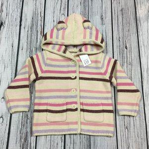 Gap Girls 6 12 18 Month Sweater Jacket